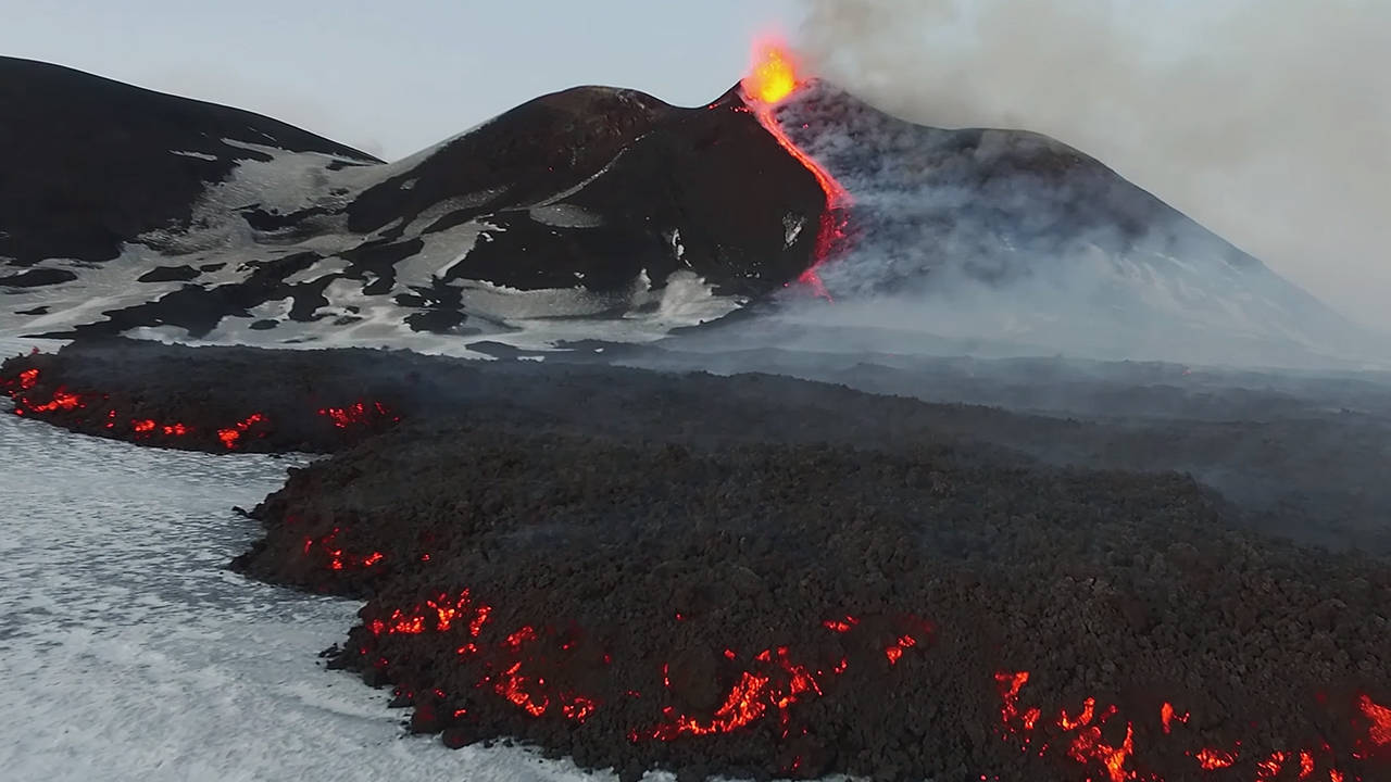 DJI Stories - Predicting Mount Etna